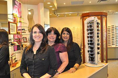 Rachel, Michele, & Sandeep of Sheridan Optometric Centre